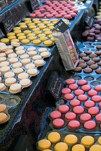 Macaron auf Französischen Märkten von La Pestaque