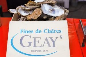 Französischer Markt Neuss - Austern Fines de Claires La Pestaque