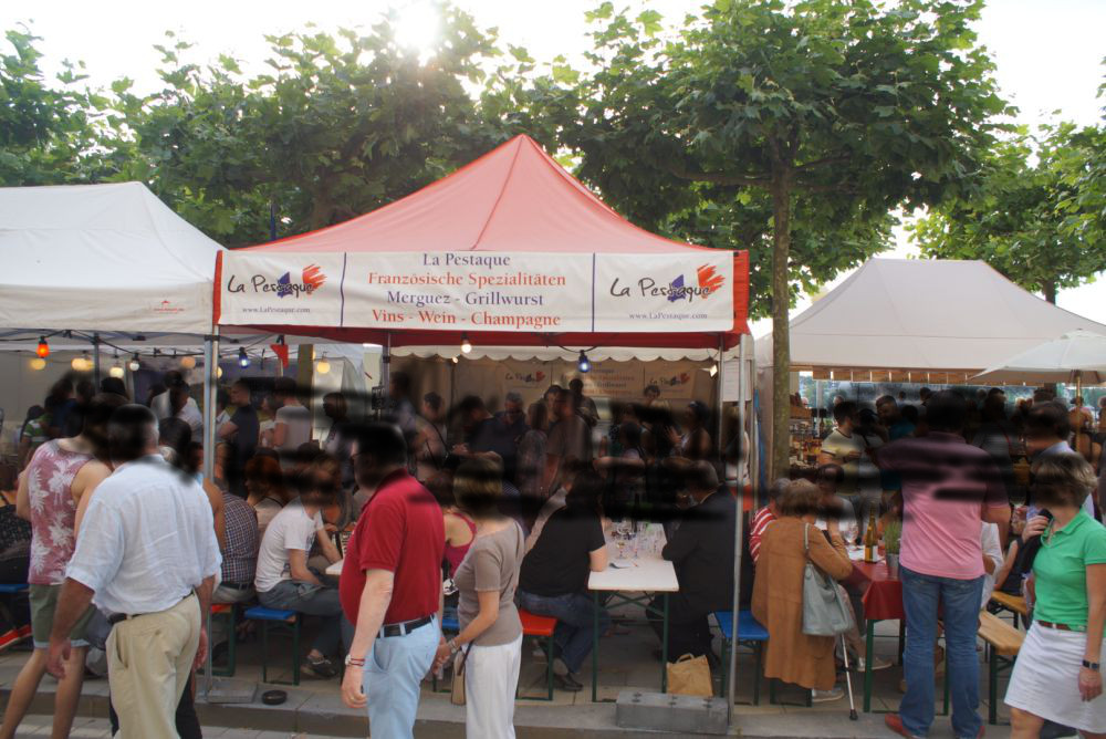 La Pestaque auf dem Frankreichfest